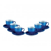 Bellavis Blue Espresso Set 12 pcs