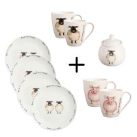Farm Breakfast Set 9 pcs