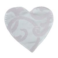 Heart Textile Coaster