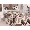 Double Quilt Cover Set Wave Kahve