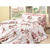 Quilt Cover Set Coral Pembe