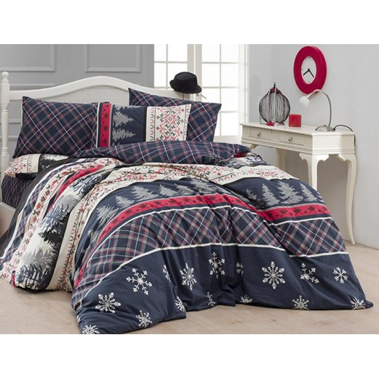 Double Size Quilt Cover Set Snowfal