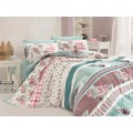 Quilt Cover Set Bennu Turkuaz