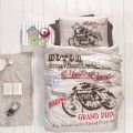 Children's Quilt Cover Set Big Race