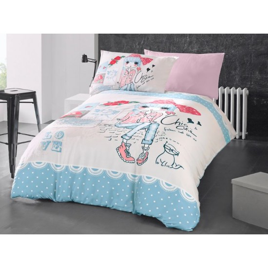 Children's Quilt Cover Set Clarice
