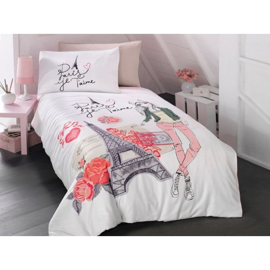 Children's Quilt Cover Set Amour