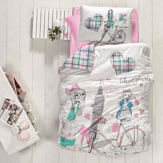 Children's Quilt Cover Set Ecem
