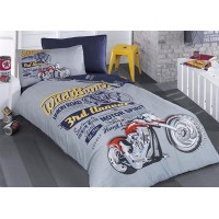 Children's Quilt Cover Set Biker
