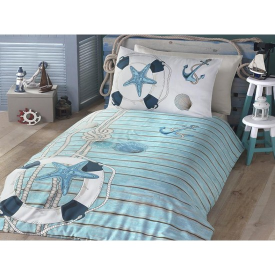 Children's Quilt Cover Set Sea