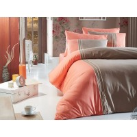 Deluxe Double Size Quilt Cover Set Craze Vizon