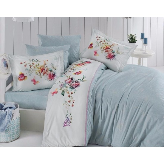 Deluxe Double Size Quilt Cover Set Noami