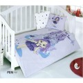 Children's Quilt Cover Set Peri Lila