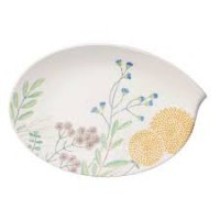 Flow Couture oval plate 36 cm