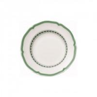 French Garden Green Line Rim Soup
