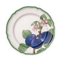 French Garden Modern Fruits dinner plate Plum