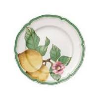 French Garden Modern Fruits Salad plate lemon