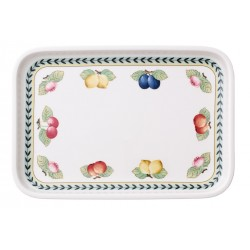 French Garden Backform Tray rectangular / Lid for Baking Dish 32x22 cm