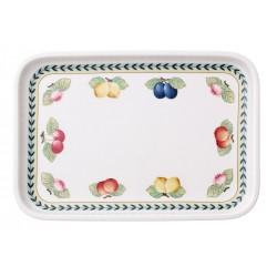 French Garden Backform Tray rectangular / Lid for Baking Dish 32x22 cm