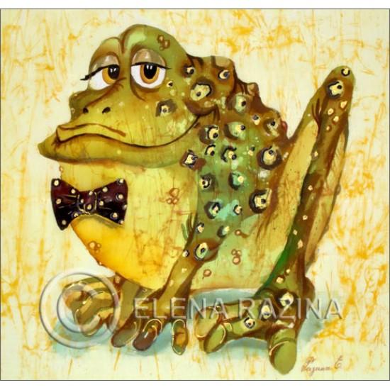 Mr Frog Card