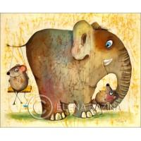 Elephant Care Card