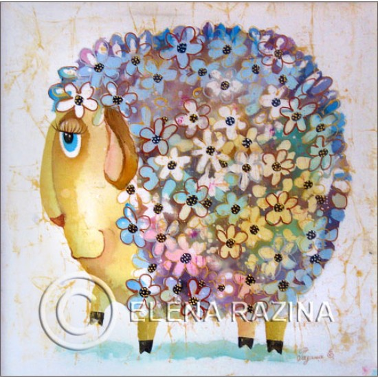 Pretty Sheep Card
