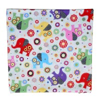 Decorative pillowcase Elephants 45 x 45 cm