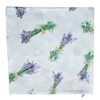 Decorative pillowcase Lavender 45 x 45 cm