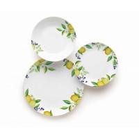 Lemon plates set 18 pcs