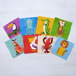 Салфетки Colourful Creatures Cocktail