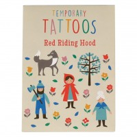 Red Riding Hood Temporary Tattoos