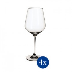 La Divina Bordeaux calyx glass
