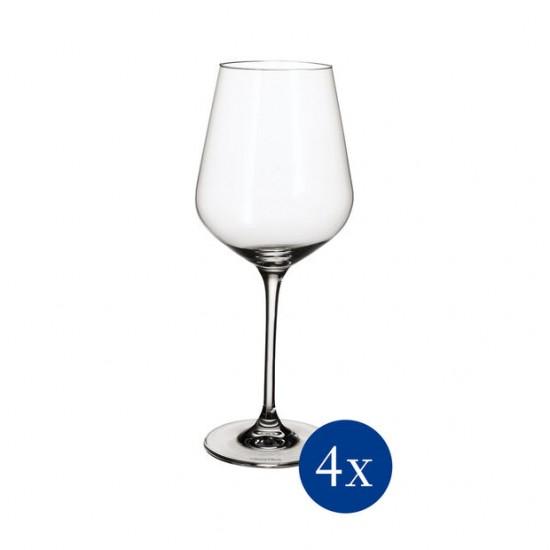La Divina Burgunderkelch Glass