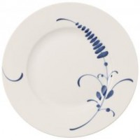 Old Luxembourg Brindille breakfast plate set 6 pcs