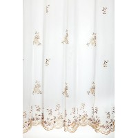 Charlotte Sheer Curtain 400x245 cm