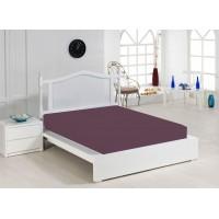 Jersey Sheet 160x200 cm, Purple