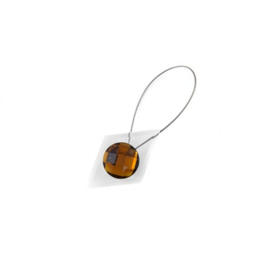 Crystal Magnetic Clip, Coffee