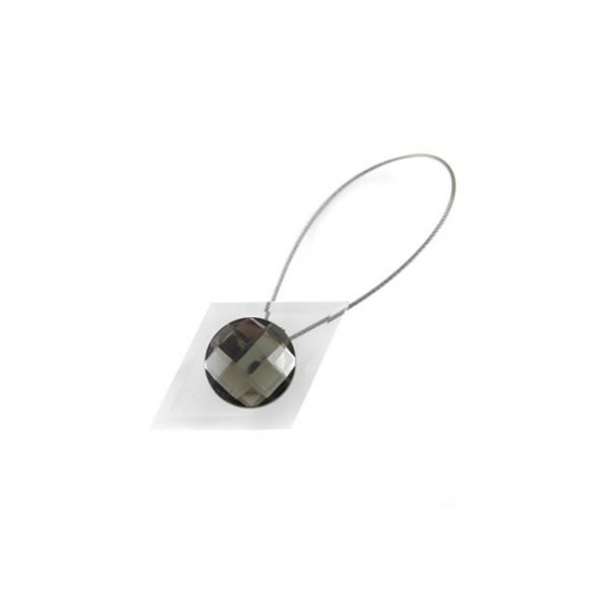 Crystal Magnetic Clip, Grey