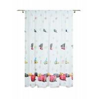 Cars Sheer Curtain 300x245 cm