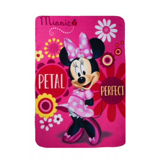 Polar Fleece Blanket 100x140 cm, Minnie