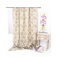 Victory Curtain 210x245 cm, Beige