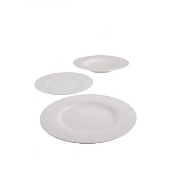 NEO White Plate Set 12 pcs
