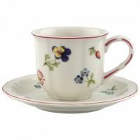 Petite Fleur Espresso cup & saucer 2pcs