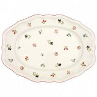 Petite Fleur Oval platter 37cm