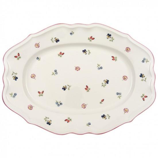 Petite Fleur Oval platter 44cm
