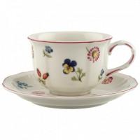 Petite Fleur Tea cup & saucer 4pcs