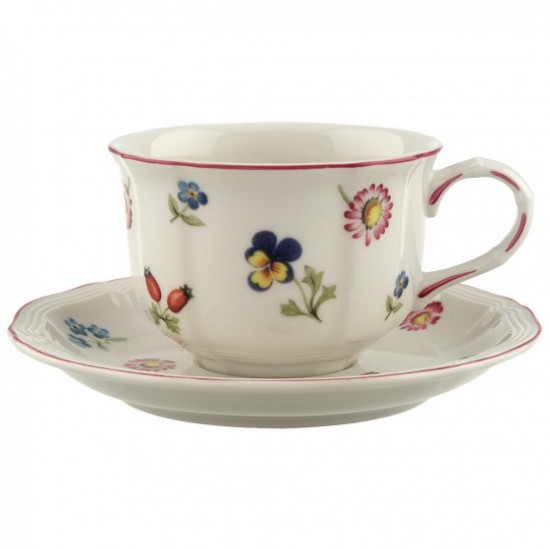 Petite Fleur Coffee /Tea cup & saucer 4pcs