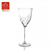 Heliconia Red Wine Goblets Set 6 pcs