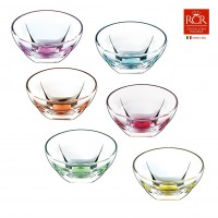 Fusion Small Bowls Set Coloured 6 pcs