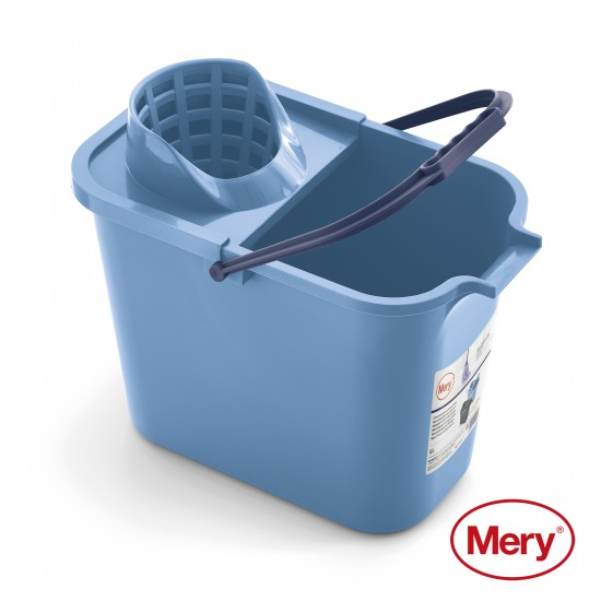 Rectangular Bucket with Strainer 12L