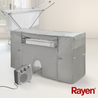 Drying Rack Cover with Heater